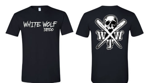 X logo Black Gildan Softstyle T-Shirt 64000