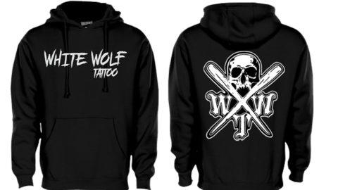 X logo Black Pennant 7o1 super 10 hoodie