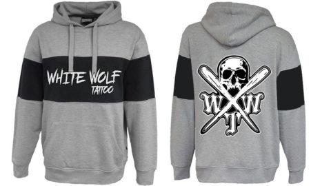 X logo Pennant 7248 spoiler hoodie