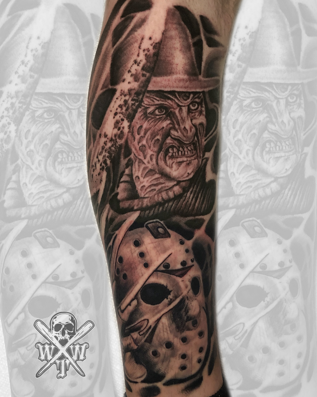 Tommy Wood Tattoo Artist At White Wolf Tattoo In Hazlet New Jersey