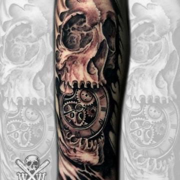 skullclockDB